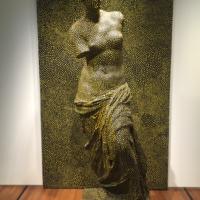 Yayoi Kusama,Statue of Venus Obliterated, 1998 - at Singapore National Art Museum