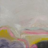 Quiet Rhythms 2017, acrylic and mixed media on canvas, 30 x 30cm