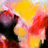 Ecstasy 75 x 75cm acrylic on canvas