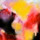Ecstasy 75 x 75cm acrylic on canvas