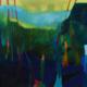 Walpole Wanderings 2017, acrylic and mixed media on canvas, 100 x 100cm