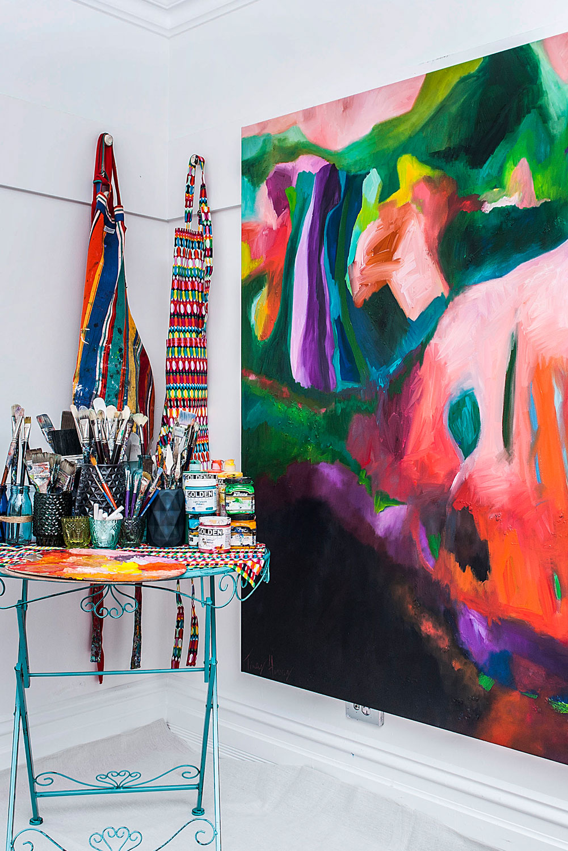 Tracey's studio